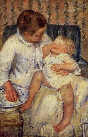 Reproduction oil paintings - Mary Cassatt - The Child's Bath