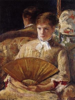 Reproduction oil paintings - Mary Cassatt - Portrait of a Lady (or Miss Mary Ellison)