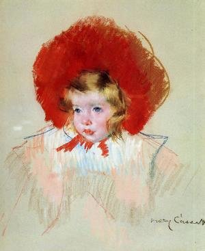 Reproduction oil paintings - Mary Cassatt - Child with a Red Hat