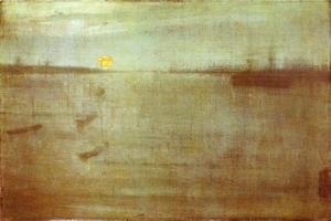 Reproduction oil paintings - James Abbott McNeill Whistler - Nocturne: Blue and Gold - Southampton Water