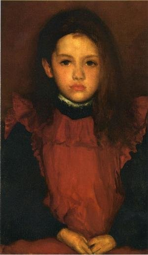 Reproduction oil paintings - James Abbott McNeill Whistler - The Little Rose of Lyme Regis