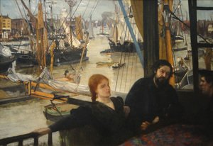 Reproduction oil paintings - James Abbott McNeill Whistler - Wapping on Thames