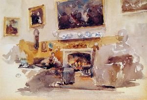 Reproduction oil paintings - James Abbott McNeill Whistler - Moreby Hall