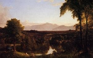 Reproduction oil paintings - Thomas Cole - View on the Catskill - Early Autumn