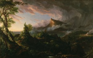 Reproduction oil paintings - Thomas Cole - The Course of the Empire: The Savage State