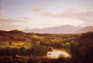 Reproduction oil paintings - Thomas Cole - River in the Catskills