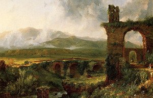 Reproduction oil paintings - Thomas Cole - A View near Tivoli (Morning)