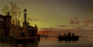 Reproduction oil paintings - Hermann David Solomon Corrodi - Prayers At Dawn