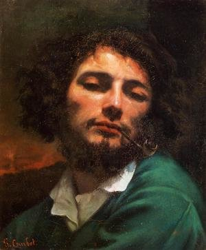 Famous paintings of Men: Portrait of the Artist (or Man with a Pipe)