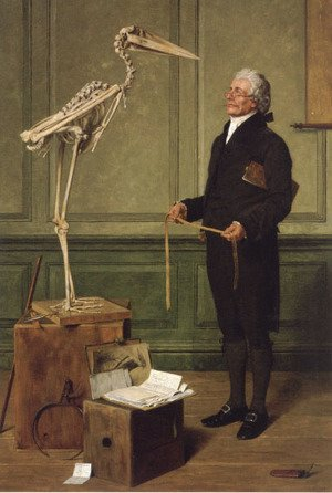 Famous paintings of Skeletons: Science is Measurement