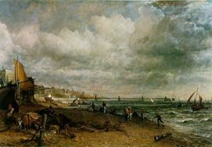 Reproduction oil paintings - John Constable - Chain Pier, Brighton