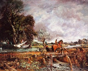 Reproduction oil paintings - John Constable - The Leaping Horse