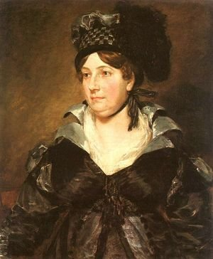 Reproduction oil paintings - John Constable - Mrs. James Pulham, Sr. (or Frances Amys)