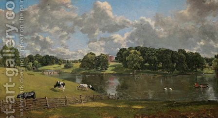 John Constable: Wivenhoe Park, Essex - reproduction oil painting