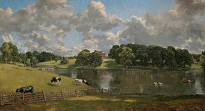Famous paintings of Clouds & Skyscapes: Wivenhoe Park, Essex