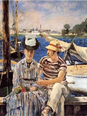 Reproduction oil paintings - Edouard Manet - Argenteuil