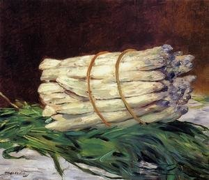 Famous paintings of Vegetables: A Bunch Of Asparagus