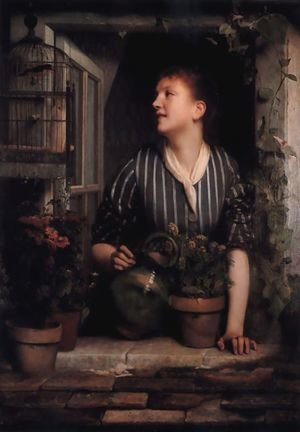 Reproduction oil paintings - Nicolas-Bernard Lepicier - Morning Glories