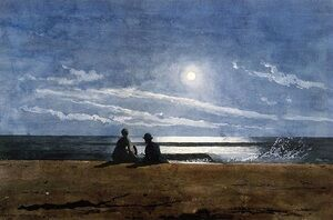Winslow Homer reproductions - Moonlight