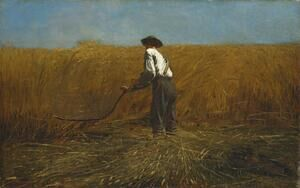 Reproduction oil paintings - Winslow Homer - The Veteran in a New Field