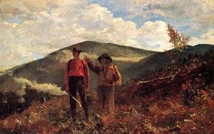 Reproduction oil paintings - Winslow Homer - The Two Guides