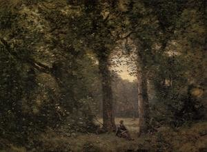 Reproduction oil paintings - Jean-Baptiste-Camille Corot - Souvenir of Ville d'Avray