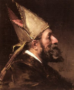 Famous paintings of Men: A Bishop