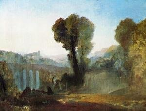 Reproduction oil paintings - Turner - Ariccia: Sunset