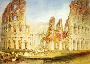 Reproduction oil paintings - Turner - Rome: The Colosseum