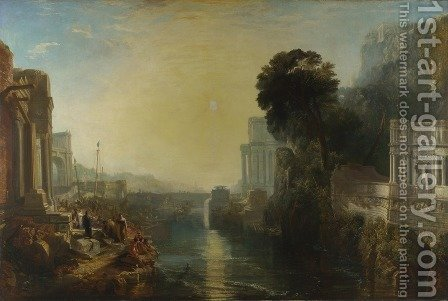 Turner: Dido Building Carthage (or The Rise of the Carthaginian Empire) - reproduction oil painting