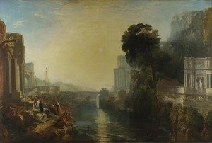 Reproduction oil paintings - Turner - Dido Building Carthage (or The Rise of the Carthaginian Empire)