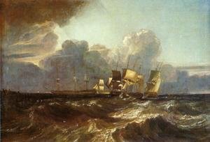 Reproduction oil paintings - Turner - Ships Bearing Up for Anchorage (or The Egremont sea Piece)