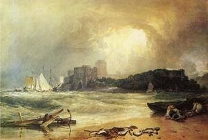 Reproduction oil paintings - Turner - Pembroke Caselt, South Wales: Thunder Storm Approaching