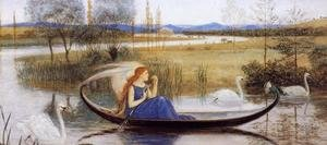 Reproduction oil paintings - Walter Crane - My Soul is an Enchanted Boat...