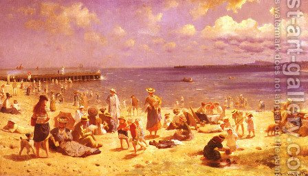 Scene De Plage (Scene at the Seaside)