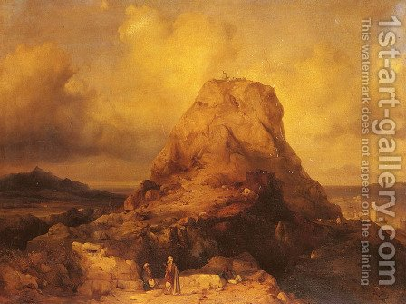 Landscape In Rhodes by Jacob Jacobs - Reproduction Oil Painting