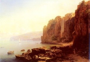 Reproduction oil paintings - Thomas Ender - Sorrento