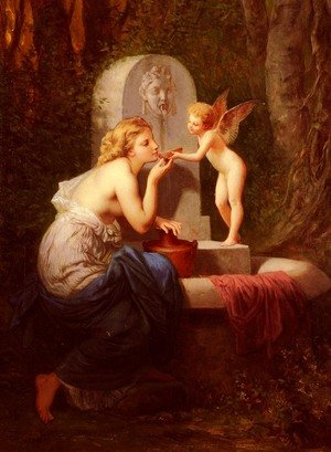 Henri Pierre Picou reproductions - At The Fountain
