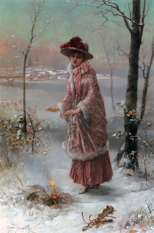 Famous paintings of Seasons: Winter