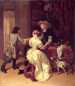 Famous paintings of Furniture: The Messenger