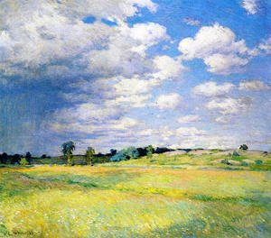 Reproduction oil paintings - Willard Leroy Metcalf - Flying Shadows