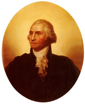 Reproduction oil paintings - Rembrandt Peale - Portrait Of George Washington