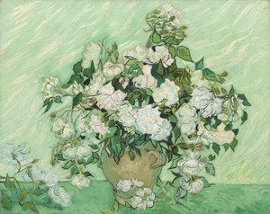 Famous paintings of Vases: Roses