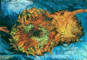 Reproduction oil paintings - Vincent Van Gogh - Sunflowers