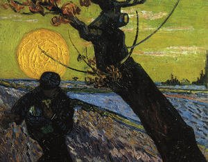 Famous paintings of Trees: The Sower 2