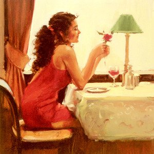 Reproduction oil paintings - Raymond Leech - Only A Dream Away