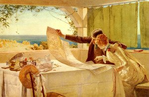 Famous paintings of Furniture: The Honeymooners
