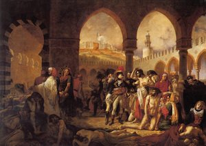 Bonaparte Visiting the Pesthouse in Jaffa, March 11, 1799
