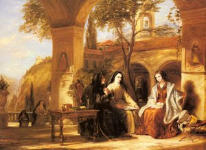 William Collins reproductions - The World of the Cloister