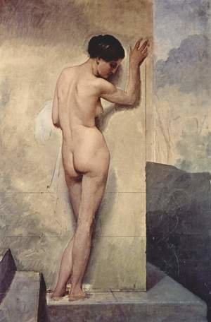 Reproduction oil paintings - Francesco Paolo Hayez - Nudo di donna stante (Nude Standing Woman)